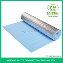 Silver Bubble Multilayer Sound Heat Insulation Materials For Roof / Attic isolation aluminium foil xpe bubble heat insulation