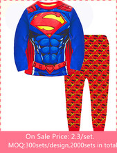 baby boy clothing sets children pajamas kids clothing wholesale factory direct