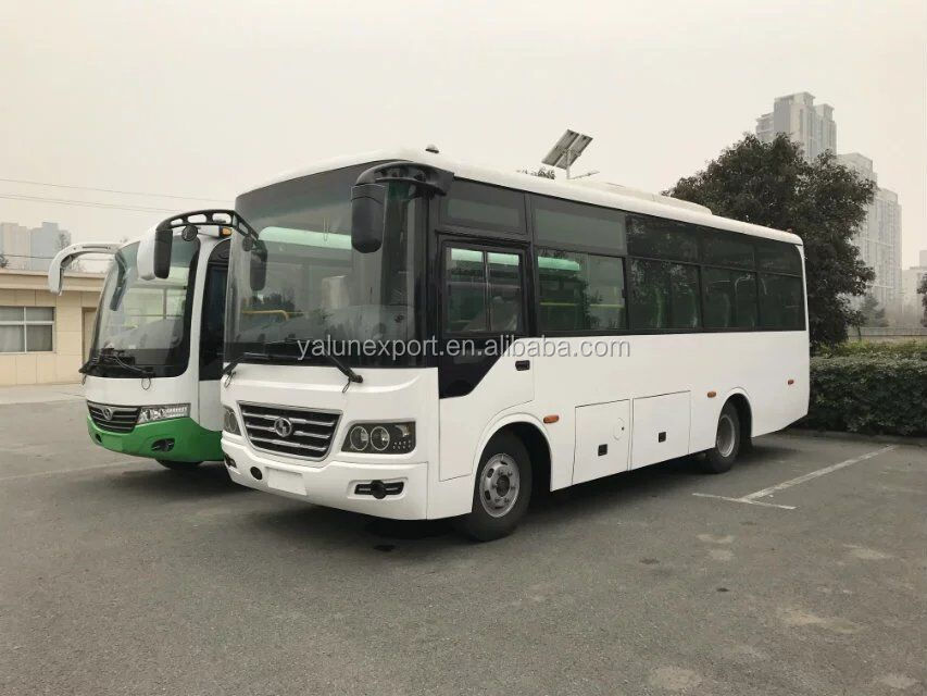 30 seats city bus on sale, best price coach 30 passengers, small bus