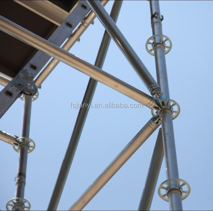 Multidirectional Quick Installation Ringlock Scaffolding