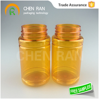 Save 20% free sample bpa fre The Latest 100ML Transparent PET Plastic pain pills for sale bottle/ pharmaceutical containers,whit