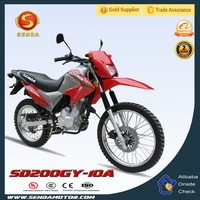 200CC Classic Hot Sale with Red Color Professional Clearance Off-road Bike Hyperbiz SD200GY-10A