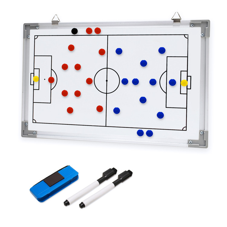 New Arrival Football Training Magnectic Coach Board With Pen Dry Erase Clipboard Teaching Tactic Board Soccer