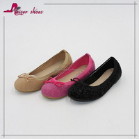 KAS16-351 2016 new style $1 dollar shoes; baby girl shoes flat shoes; girls belly shoes