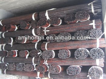 Pierced with firm iron galvanized wire bamboo fence fencing panels screen