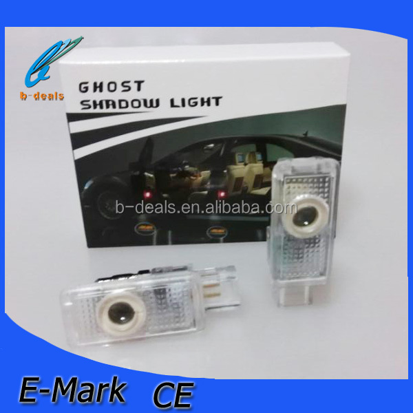 High quality car led ghost shadow light led shadow logo with names