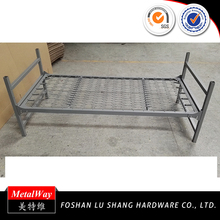Top sale heavy duty metal single spring stackable bed