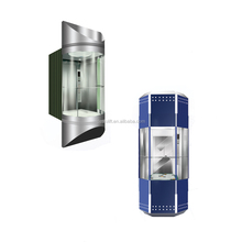 Building Elevation Glass Residential Panoramic Elevator