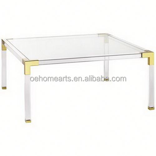 Hottest China Manufacturer Factory Price dinning acrylic table