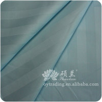 Best selling cvc 32*32 142*76 navy and white stripe fabric