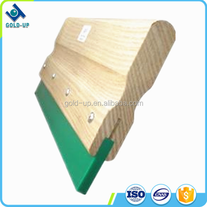 High quality polyurethane squeegee with wooden handle for sale