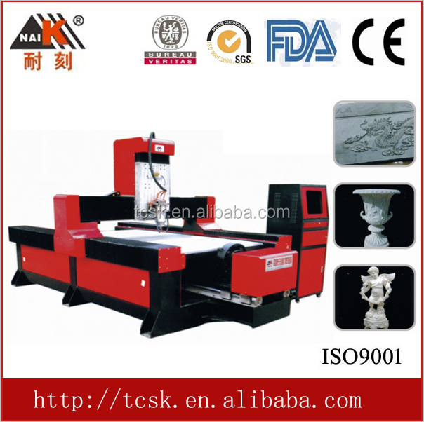 double funtional for wood, stone cnc router machine 2d and 3d engraving