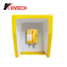Waterproof Emergency Telephone noise Acoustic Hood RF-16 Noise Reducing Roof, metal telephone booth