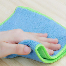 bulk wholesales magnet microfiber kitchen dish cleaning cloth towels 30*30cm
