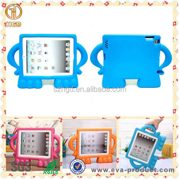 Alibaba trade assurance cheapest factory price minion case for iPad 2 3 4
