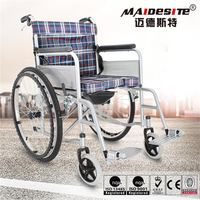Cost affordable Manual Wheelchair with toilet