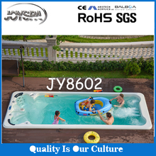 5.85M large high quality Acrylic luxury spa swimming pool piscina for European