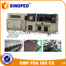 BS-400LA+BMD-450C Automatic Heat Shrink Packing Machine with ISO