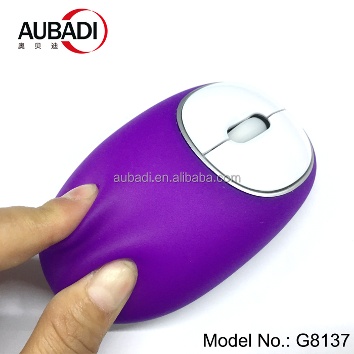 Computer peripherals 2018 new soft optical silicone mouse wireless mouse