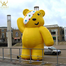 new Christmas day decor inflatable bear