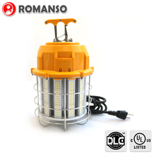 UL DLC 60W/100W/150W 6000V Surge Protection, LED Temporary Jobsite Lighting Fixture