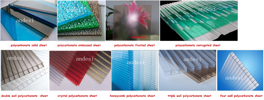 translucent roofing material for polycarbonate sunroom