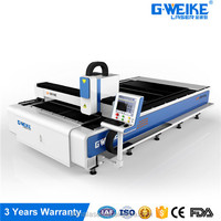 4000w gasket portable laser cutting aluminum plates machine