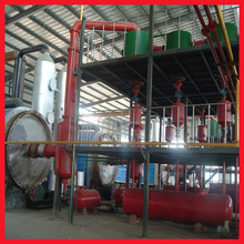 China advanced diesel profitable waste tire oil recycling machine