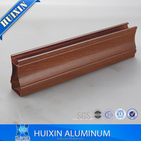 Kinds of Wooden Grain Surface Aluminum extruded profiles 6063-T5 alloy