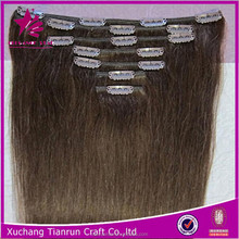 factory stock clearance for sale hair clipclips with hair human hair extension
