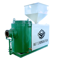 CE Certification Wood Pellet Burner Supply the heat value for Boiler