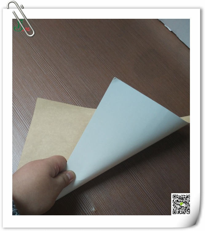 350g white coated kraft back board for cake box making