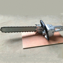Construction Tools Small Air Type Pneumatic Concrete/Wood/Marble/Diamond Chain Saw/Cutting Machine