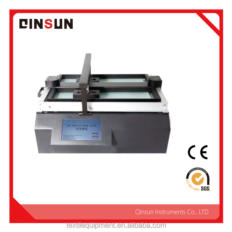 Color fastness tester Resistant to scrub for all types of colored textiles dry and wet friction color fastness