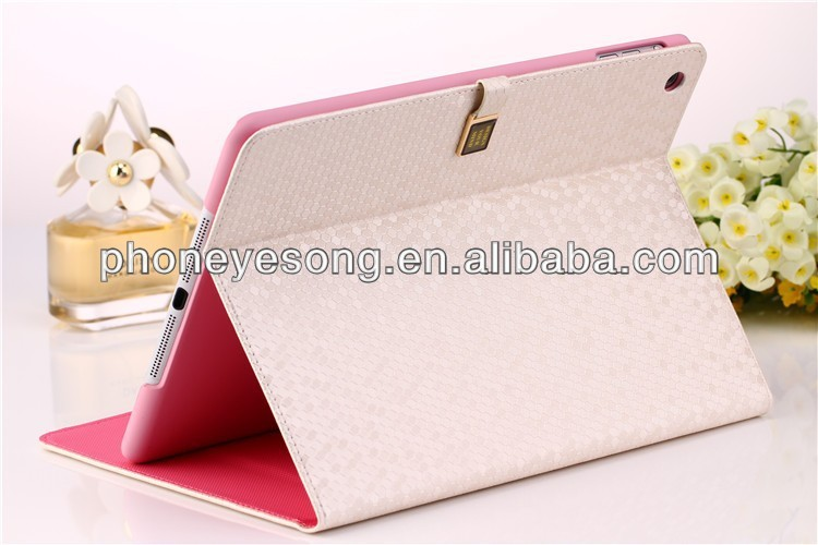 High quality Sublimation Leather Flip Cover for iPad