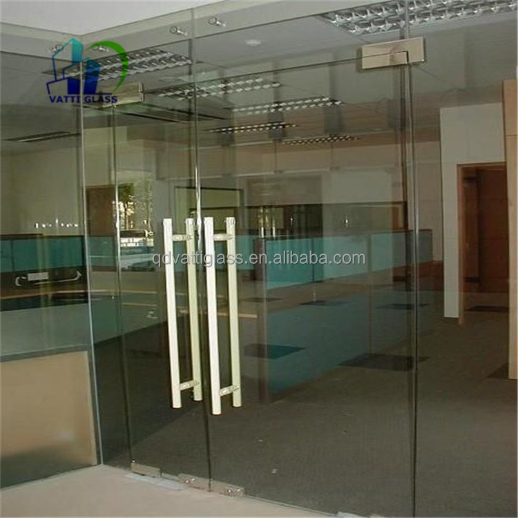 Interior Toughened Glass Door Tempered Glass Garage Door