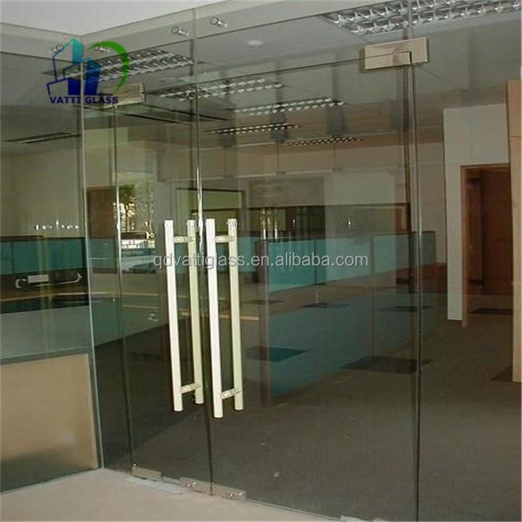 Glass door tempered glass garage door prices insulated glass door
