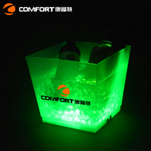 Beer large AA led ice bucket beer with battery