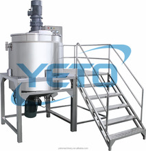 Hot sale liquid soap mixing tank detergent making dishwashing liquid machine price
