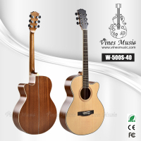 41'acoustic guitar&guitar neck&guitar hero
