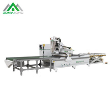 Wood Panel Furniture Cabinet CNC Nesting Machine with Auto Loading and Unloading System