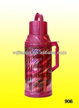pink plastic thermos/vacuum flask /bottle /glass refill