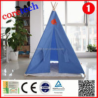 Blue and popular teepee tent for party wholesale