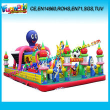 Big Inflatable Entertainment Athletics City,Inflatable Funcity Tower