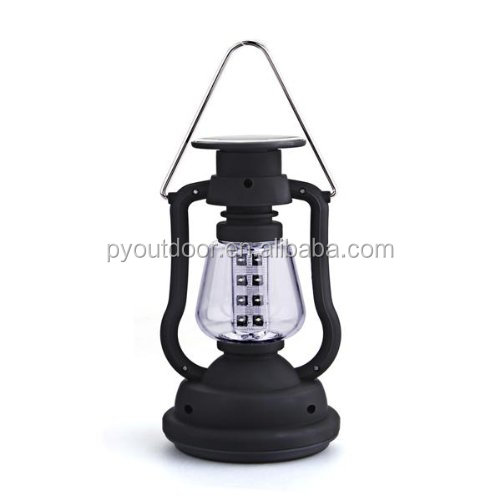 3*AAA Alkaline bat Lantern Handcrank Emergency USB output Handheld LED Solar Powered Camping Light