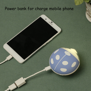 outdoor battery charger cute cartooninsect power bank