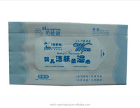 Baby Wet Wipe Tissue Plastic Laminated Packaging Bag