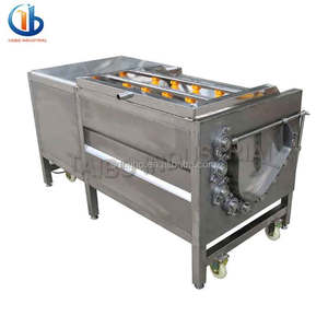 Fruit peeling machine/potato peeling and cutting machine/cassava peeling and washing machine