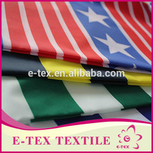 Textile fabrics supplier 2016 new style Custom Plain different types of prints on fabric