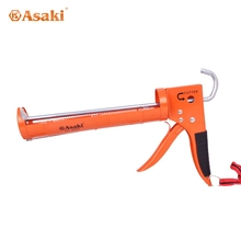 High quality heavy duty caulking gun with teeth